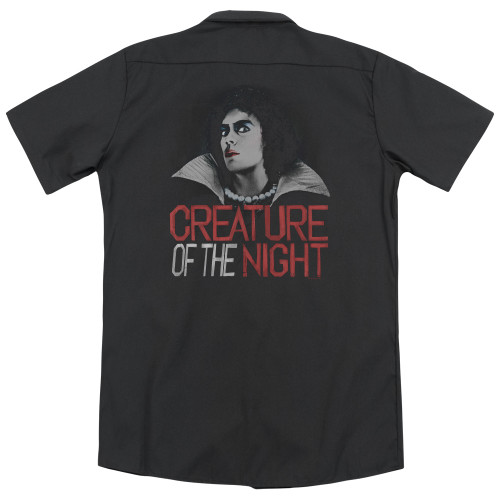 Image for Rocky Horror Picture Show Dickies Work Shirt - Creature of the Night