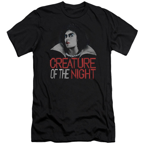 Image for Rocky Horror Picture Show Premium Canvas Premium Shirt - Creature of the Night
