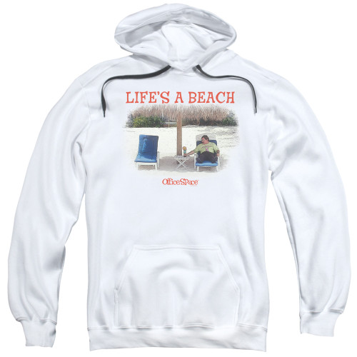Image for Office Space Hoodie - Life's a Beach