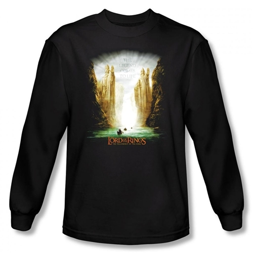 Image for Lord of the Rings Kings of Old Long Sleeve T-Shirt