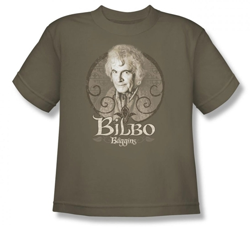 Image for Lord of the Rings Youth T-Shirt -Bilbo Baggins