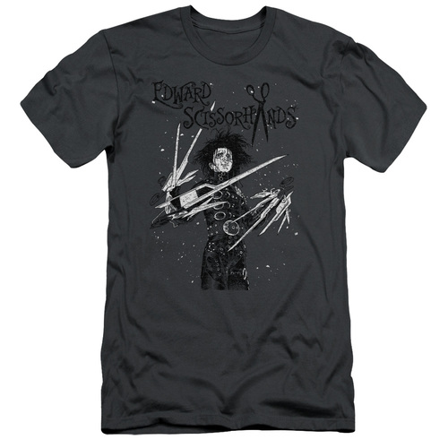 Image for Edward Scissorhands Premium Canvas Premium Shirt - Snowy Night