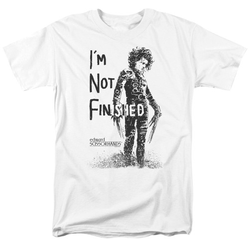 Image for Edward Scissorhands T-Shirt - I'm Not Finished