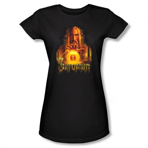 Image for Lord of the Rings Girls T-Shirt - Saruman