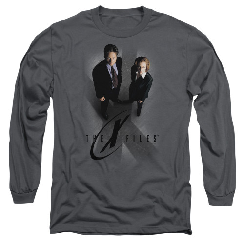 Image for The X-Files Long Sleeve Shirt - X Marks the Spot