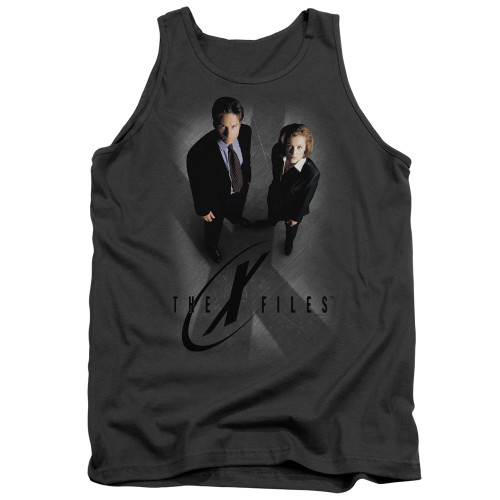Image for The X-Files Tank Top - X Marks the Spot