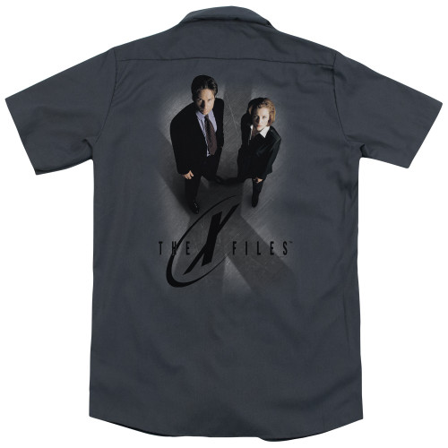 Image for The X-Files Dickies Work Shirt - X Marks the Spot