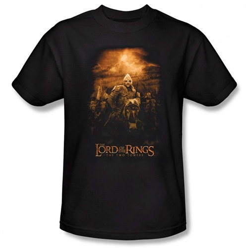 Image Closeup for Lord of the Rings Riders of Rohan T-Shirt