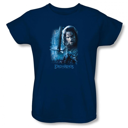 Image for Lord of the Rings Woman's T-Shirt - King in the Making