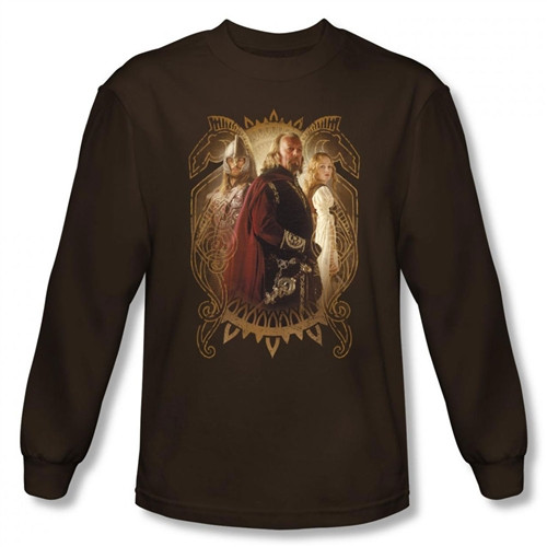 Image for Lord of the Rings Rohan Royalty Long Sleeve T-Shirt