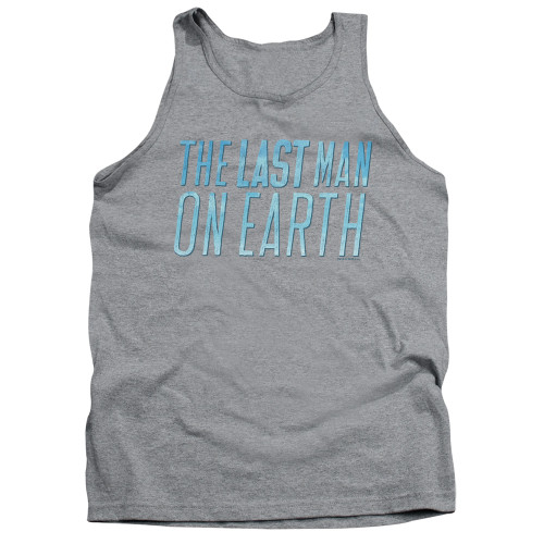 Image for Last Man on Earth Tank Top - Logo