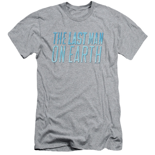 Image for Last Man on Earth Premium Canvas Premium Shirt - Logo