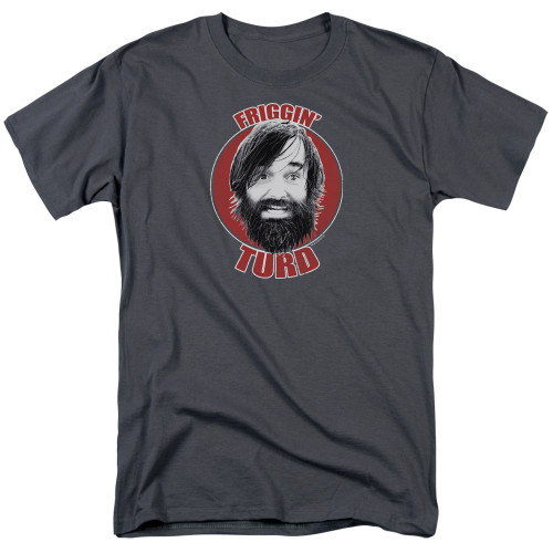Image for Last Man on Earth T-Shirt - Friggin' Turd