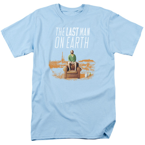 Image for Last Man on Earth T-Shirt - Phil on Chair