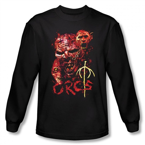 Image for Lord of the Rings Orcs Long Sleeve T-Shirt