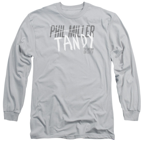 Image for Last Man on Earth Long Sleeve Shirt - Tandy