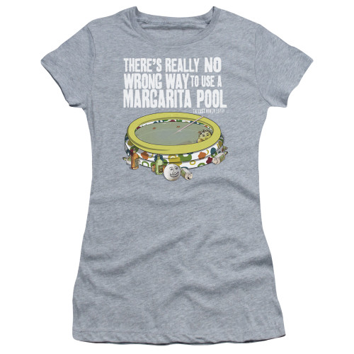 Image for Last Man on Earth Girls T-Shirt - There's No Wrong Way to Use a Margarita Pool