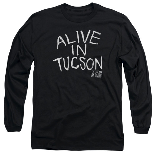Image for Last Man on Earth Long Sleeve Shirt - Alive in Tucson