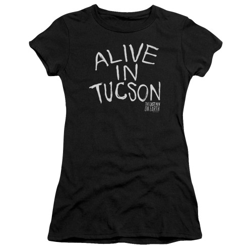 Image for Last Man on Earth Girls T-Shirt - Alive in Tucson