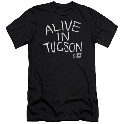 Image for Last Man on Earth Premium Canvas Premium Shirt - Alive in Tucson