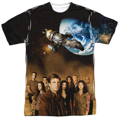 Image for Firefly T-Shirt - Cast