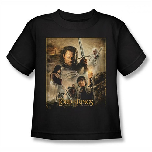 Image for Lord of the Rings Kids T-Shirt - Return of the King Poster