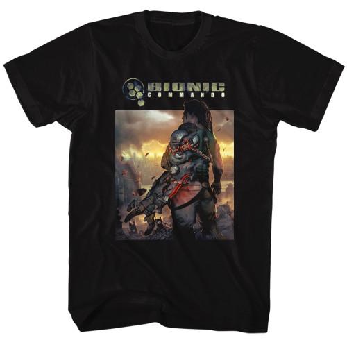 Image for Bionic Commando the World Burns T-Shirt
