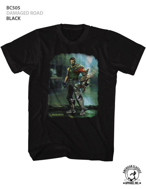 Image for Bionic Commando Damaged Road T-Shirt