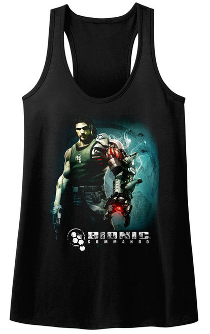 Image for Bionic Commando Juniors Tank Top - Steam Arm