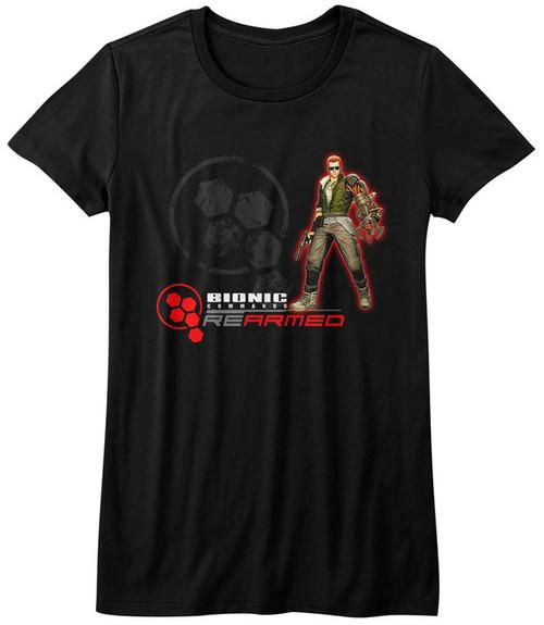 Image for Bionic Commando Girls T-Shirt - Rearmed