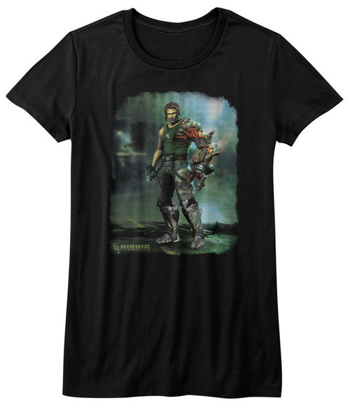 Image for Bionic Commando Girls T-Shirt - Damaged Road