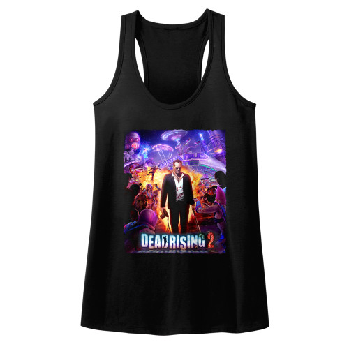Image for Dead Rising Juniors Tank Top - Purple Action