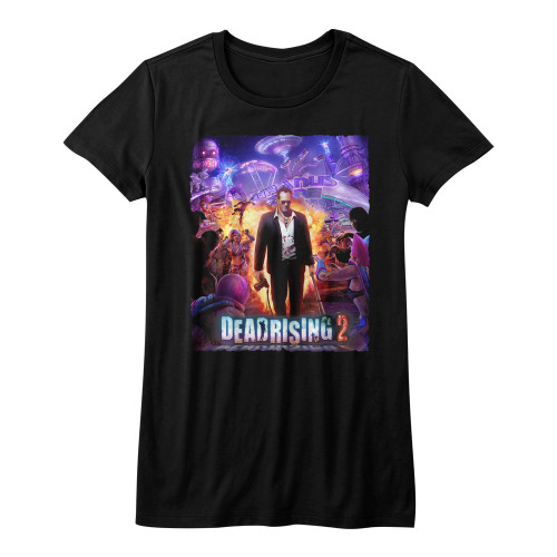 Image for Dead Rising Girls T-Shirt - Purple Action