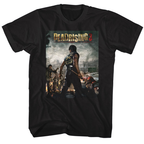 Image for Dead Rising DR3 Cover T-Shirt