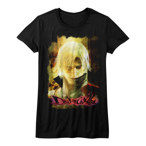 Image for Devil May Cry Girls T-Shirt - Grunge Stare