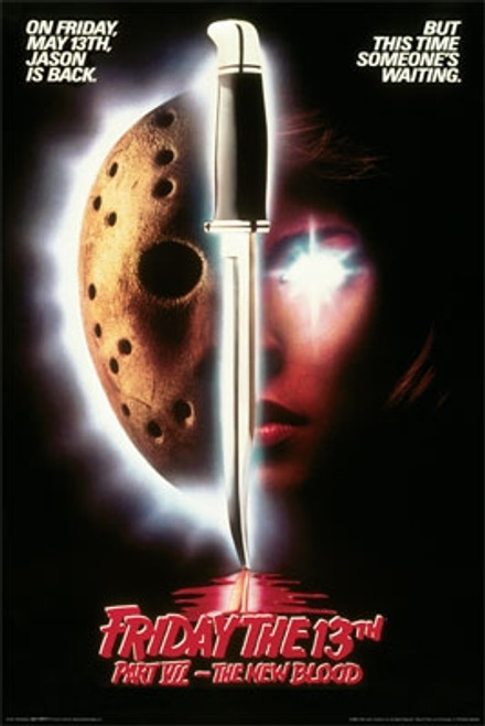 Image for Friday the 13th Part VII Poster - The New Blood