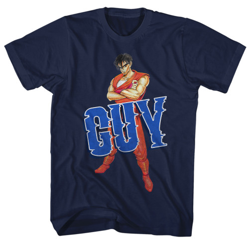 Image for Final Fight Guy Pose T-Shirt