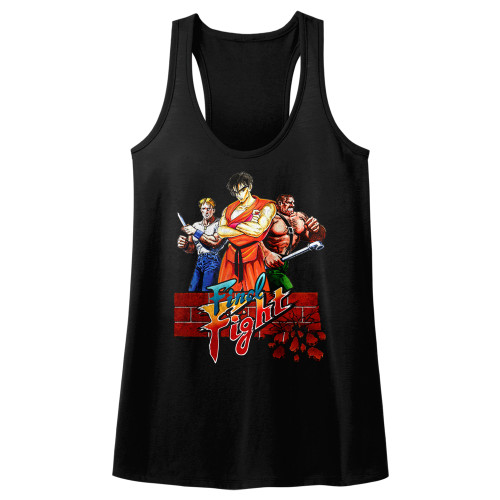 Image for Final Fight Juniors Tank Top - Trio
