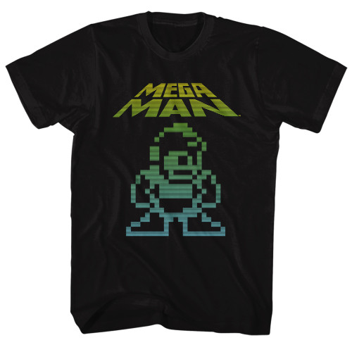 Image for Mega Man Mega Pixel T-Shirt