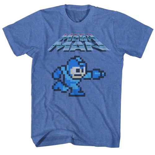 Image for Mega Man Mega Gunner Heather T-Shirt
