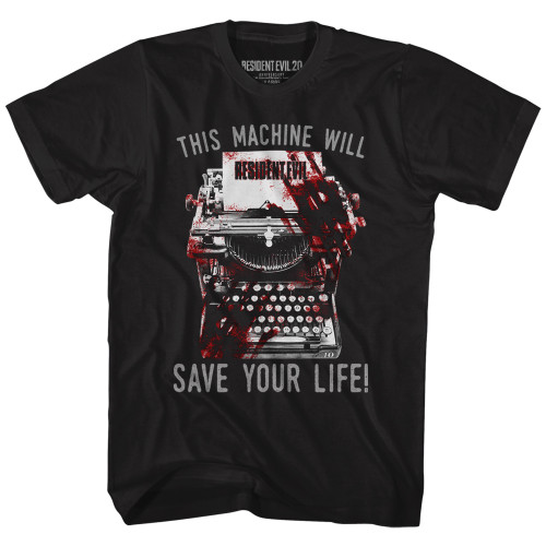 Image for Resident Evil This Machine Will Save Your Life T-Shirt