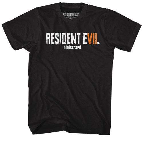 Image for Resident Evil RE7 Logo T-Shirt