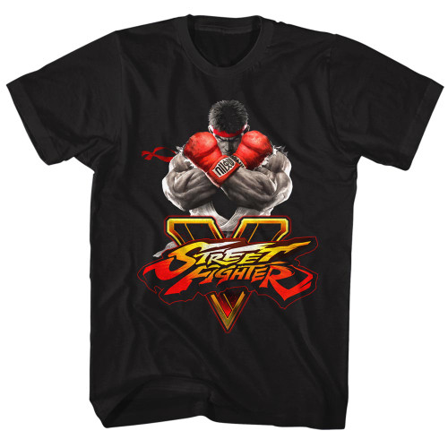 Image for Street Fighter V Key T-Shirt