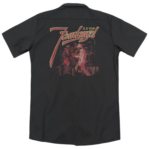 Image Closeup for ZZ Top Dickies Work Shirt - Fandango!