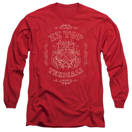 Image for ZZ Top Long Sleeve Shirt - Texicali Demon