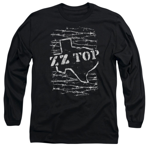 Image for ZZ Top Long Sleeve Shirt - Barbed