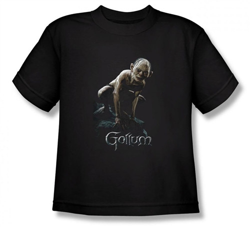 Image for Lord of the Rings Youth T-Shirt -Gollum