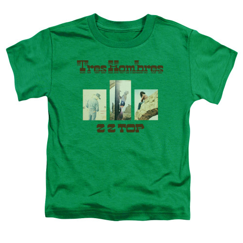 Image for ZZ Top Toddler T-Shirt - Tres Hombres