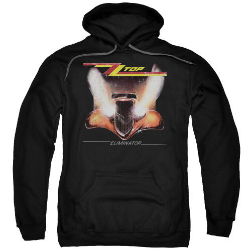 Image for ZZ Top Hoodie - Eliminator Cover