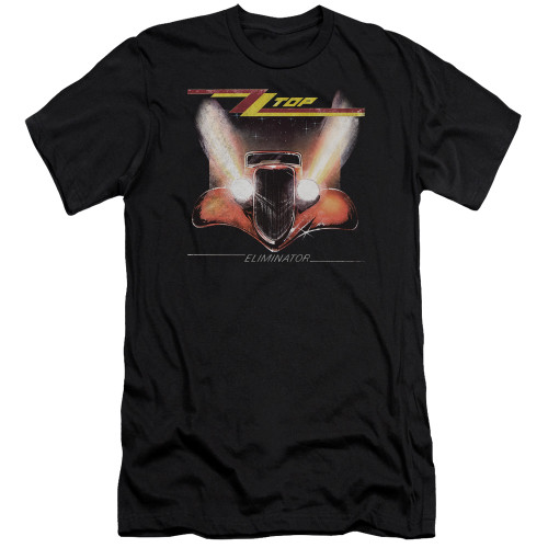 Image for ZZ Top Premium Canvas Premium Shirt - Eliminator Cover